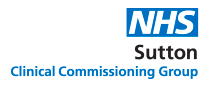 NHS Sutton Clinical Commissioning Group logo